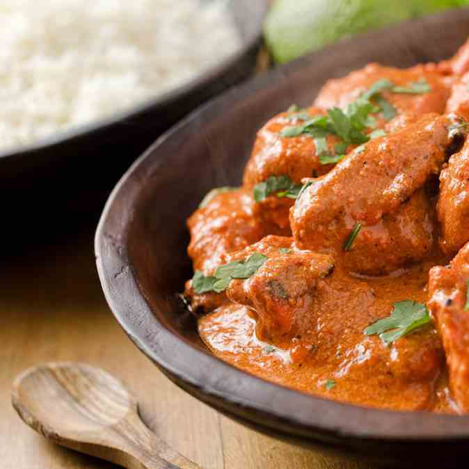 Butter Chicken In The Slow Cooker