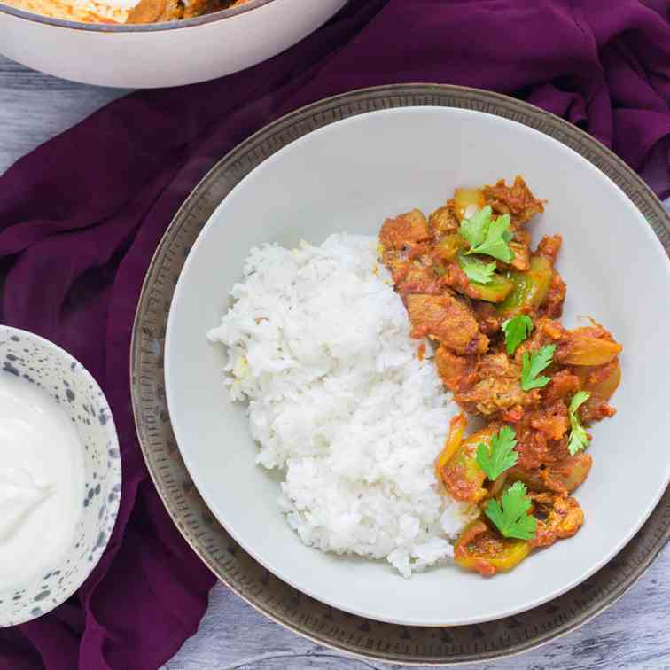 Quick - Easy Leftover Turkey Curry
