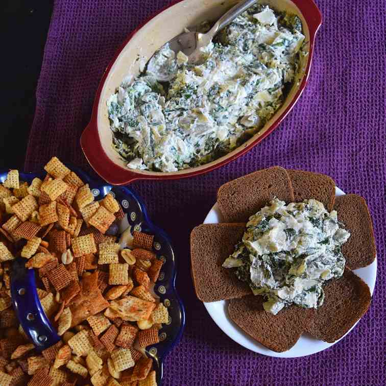 Homemade Spinach Artichoke Dip Recipe