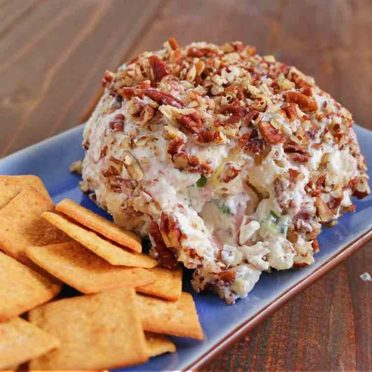 Ham - Pineapple Cheese Ball