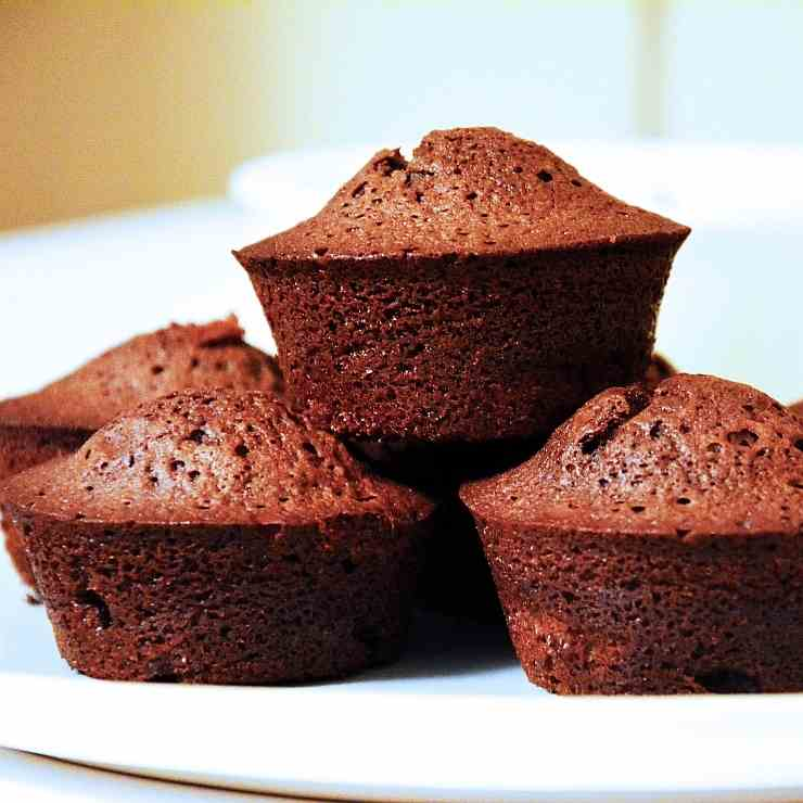 Chocolate-Rum-Raisins Muffins