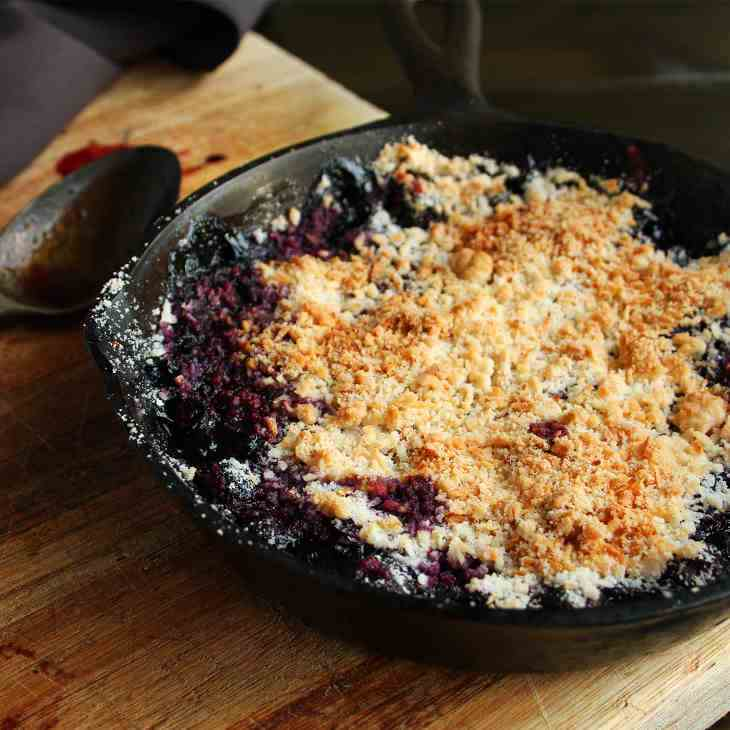 AIP Blueberry Coconut Crumble Recipe