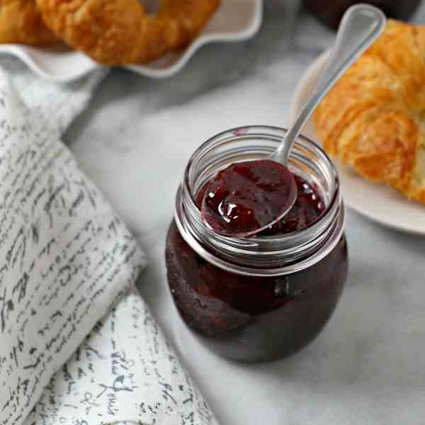 Easiest Ever Strawberry Jam
