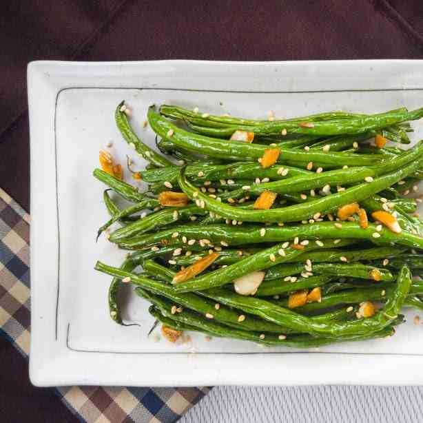 Garlic Sesame Green Beans