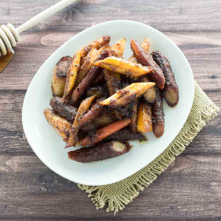 Honey-Ginger Glazed Carrots
