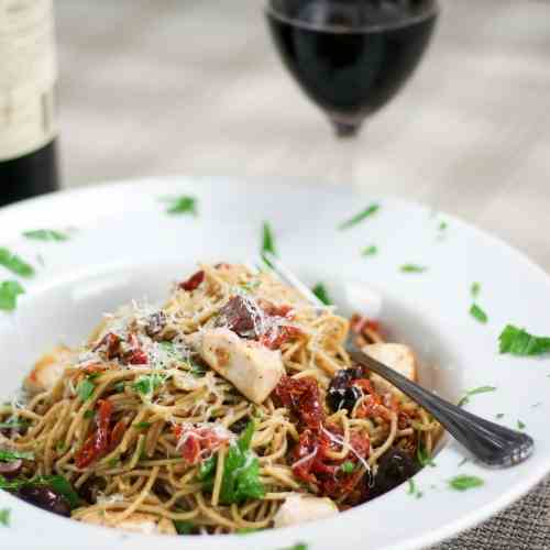 Chicken and Sundried Tomato Pasta