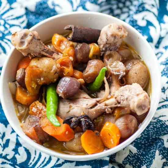 Homemade One-pot Chicken Stew