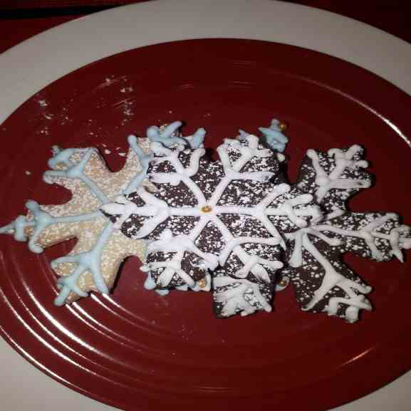 Christmas Icebox Cookies