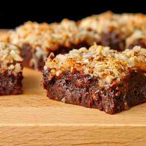 Coconut Praline Brownies