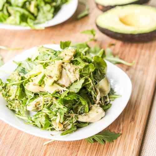 Artichoke Avocado and Alfalfa Salad
