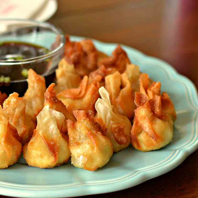 Cream Cheese Wontons