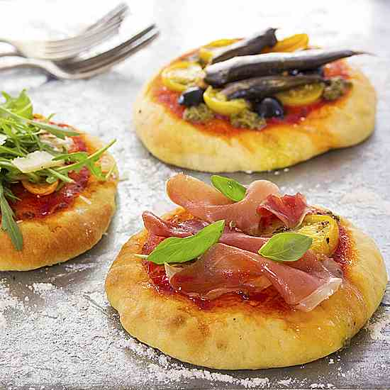 Summer pizzas