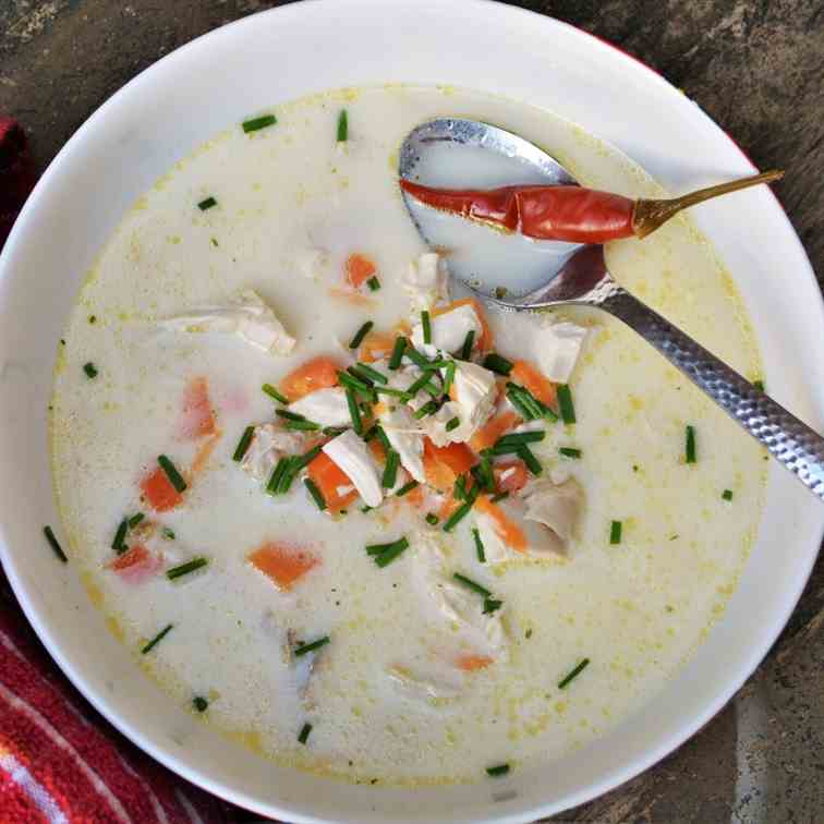Best Creamy Chicken Soup Recipe