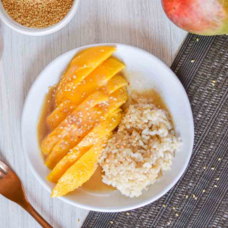 Thai Mango Sweet Rice