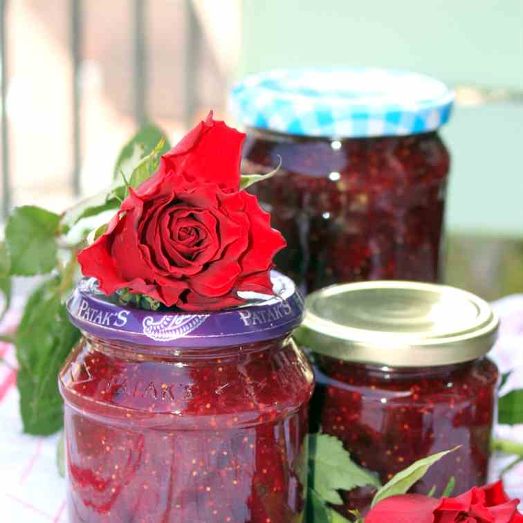 Fig and Red Wine Jam