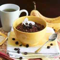 Choco-Banana Overnight Oats