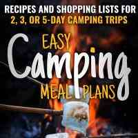 Easy Camping Recipes - The Cookbook Publis