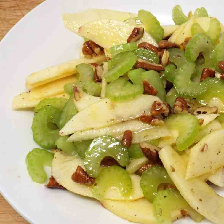 Apple and Celery Salad with Pecans
