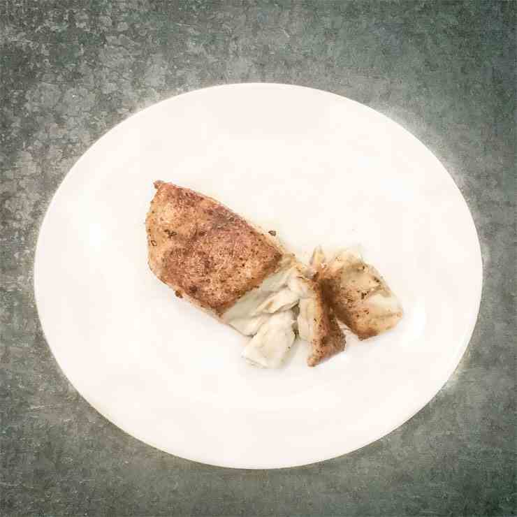 Easy Blackened Barramundi Fish