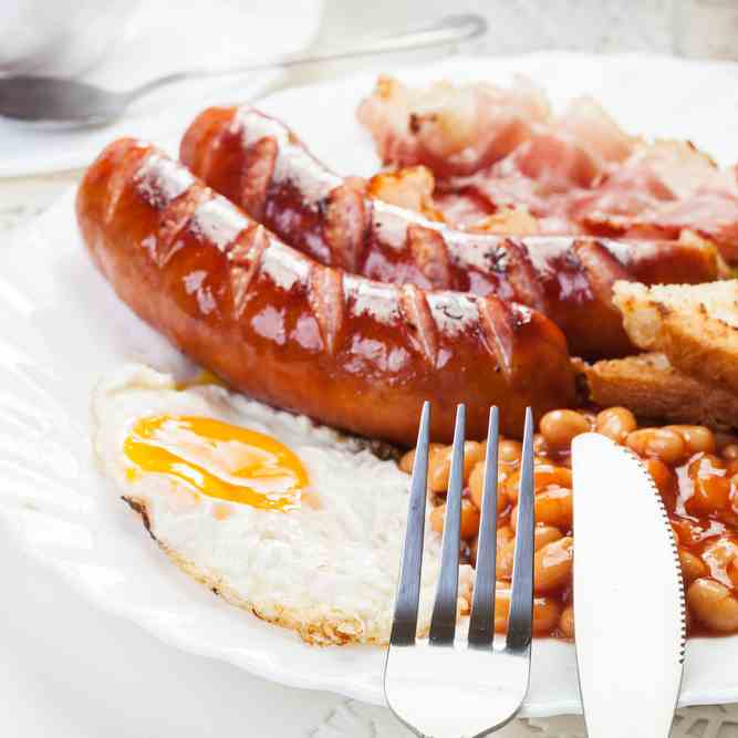 The Ultimate Fried English Breakfast