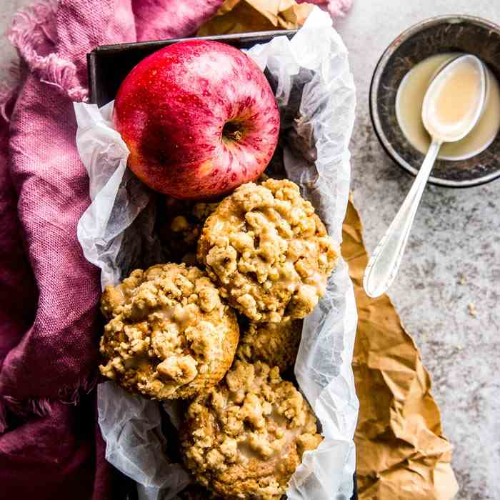 Greek Yogurt Apple Cinnamon Muffins