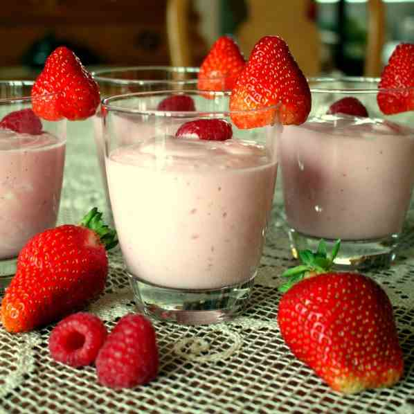 Berry Quark-Curd