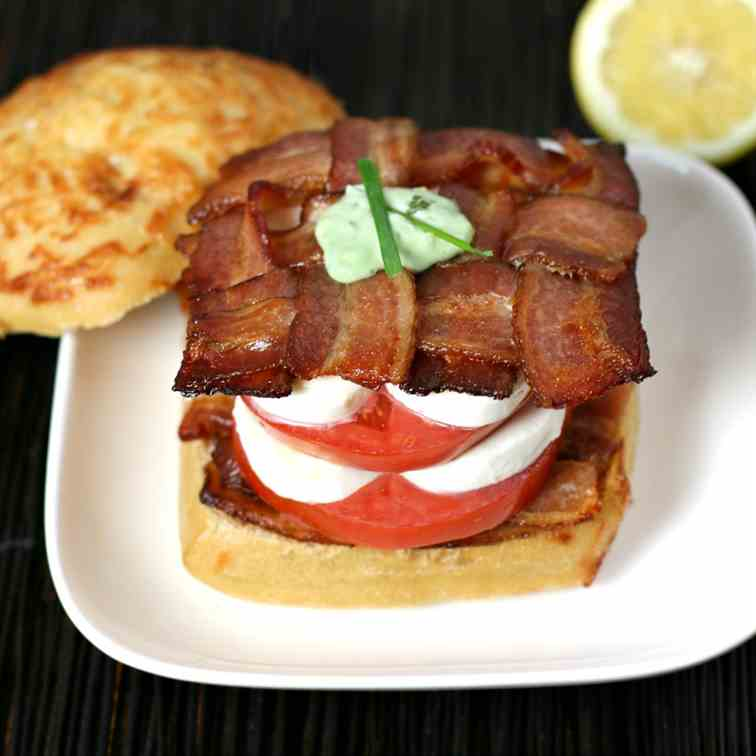 Best Bacon Caprese Sandwich
