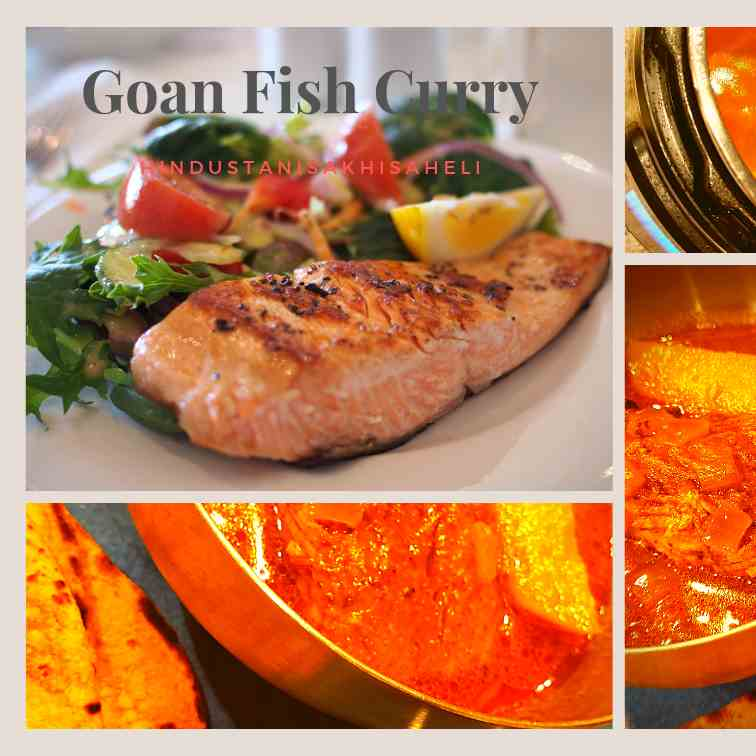 Instant pot Goan Fish Curry