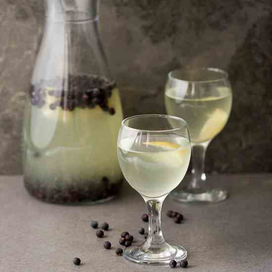 Fermented Juniper Berry Juice