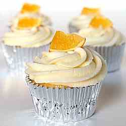Limoncello & Meyer Lemon Cupcakes