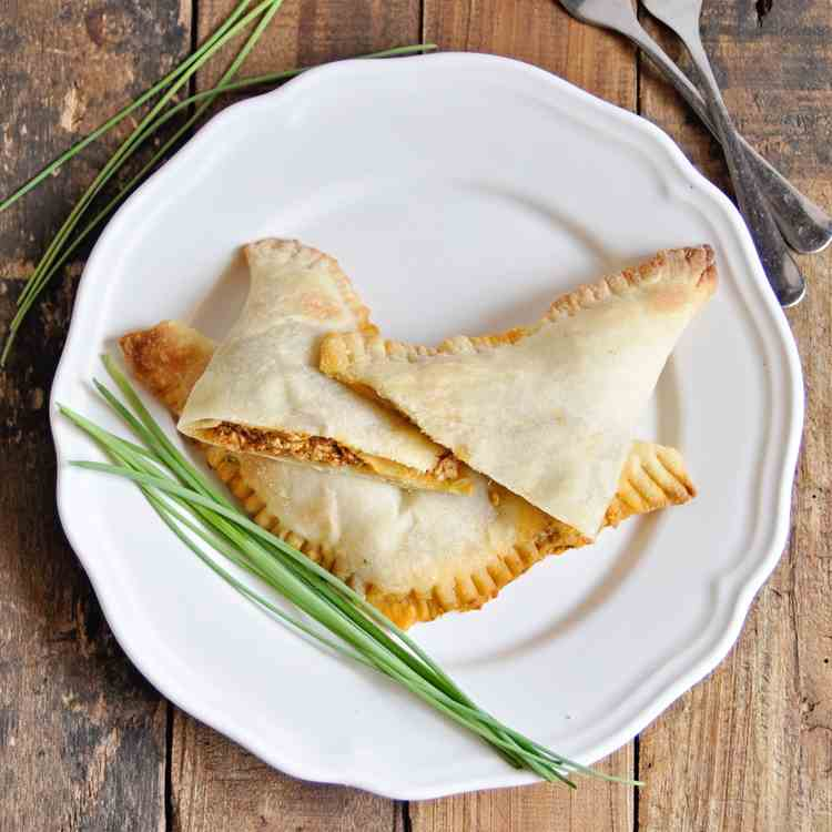 Spanish Empanadas with Roasted Peppers