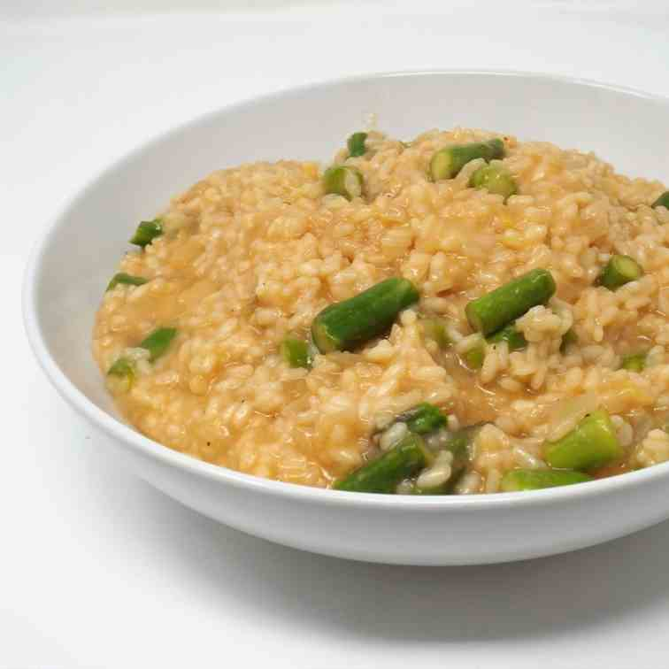 Lemon and Asparagus Risotto
