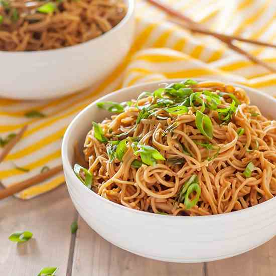 Gluten Free Sticky Garlic Noodles