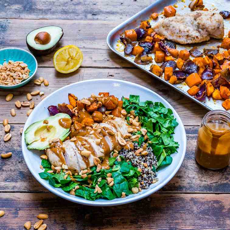 Healthy Chicken Salad With Quinoa