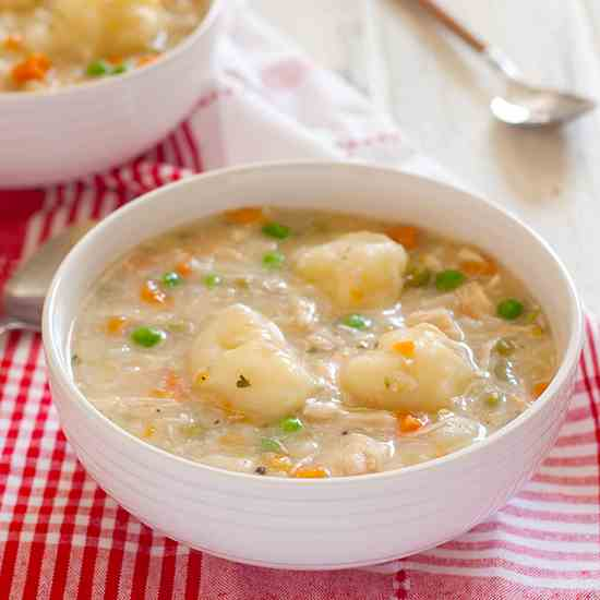 GF Chicken and Dumplings