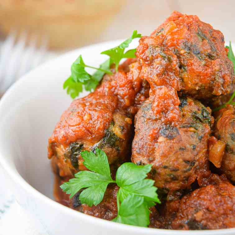 Freezer Meal- Turkey and Mushroom Meatball