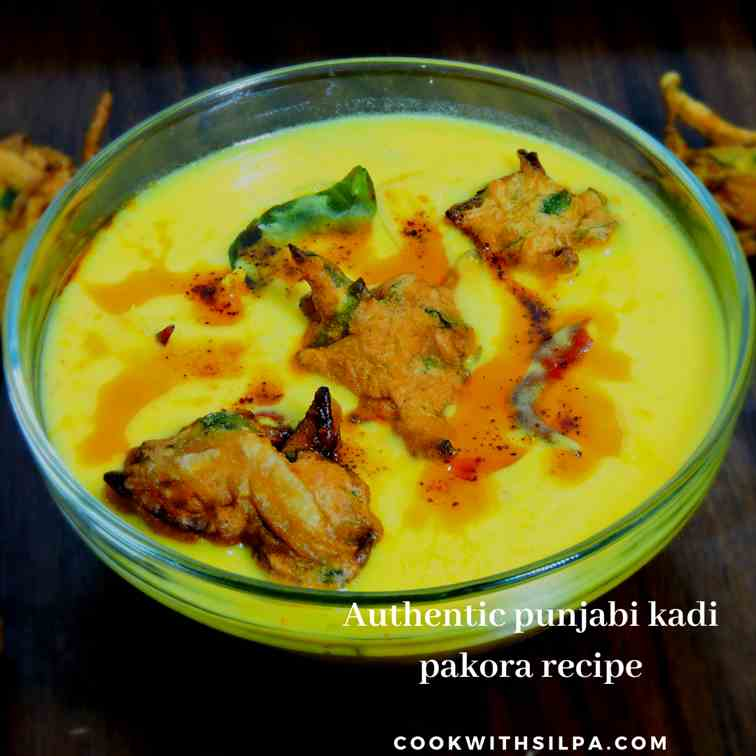 Authentic punjabi kadhi pakora recipe