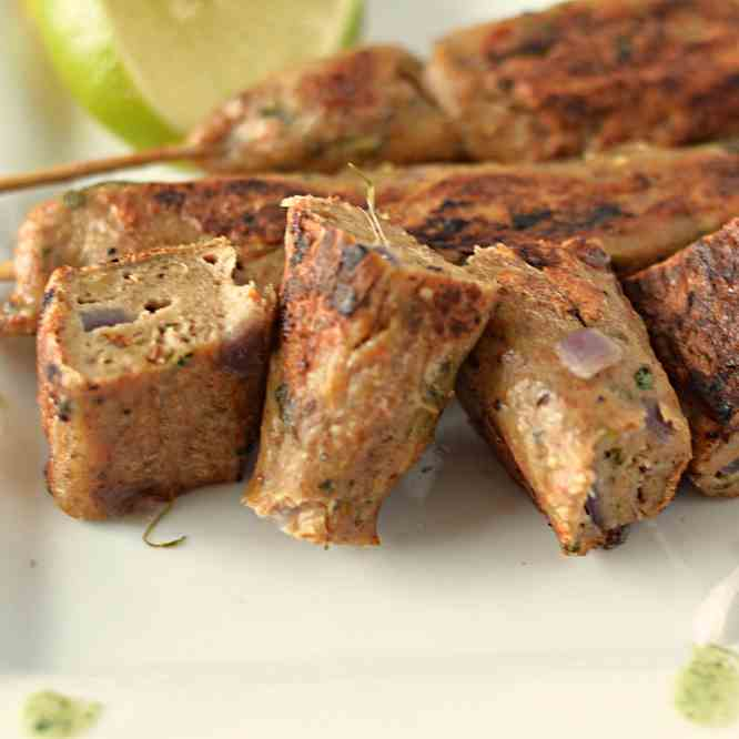 Chicken seekh Kebab without oven