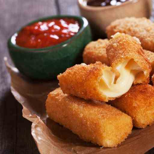 How To Make Homemade Mozzarella Stick