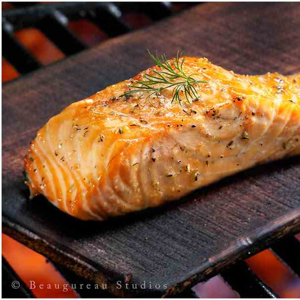 Savory Grilled Salmon