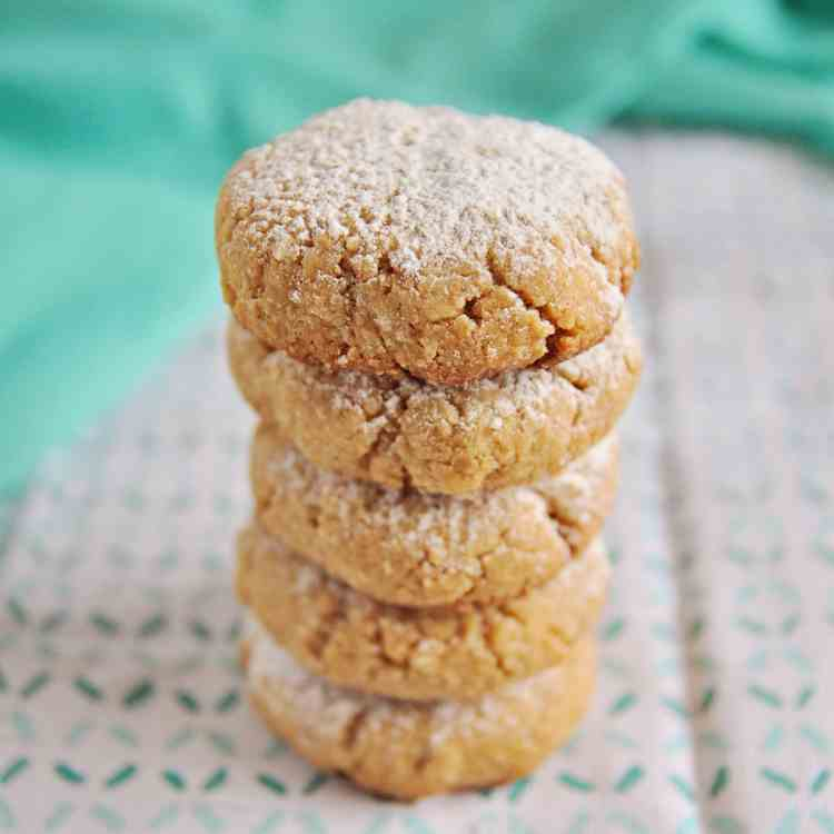 Spanish Almond Cookies