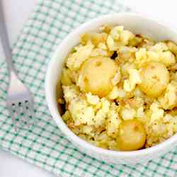 Crushed Baby Potatoes