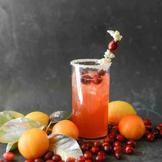 Merry and Bright Citrus Cocktail
