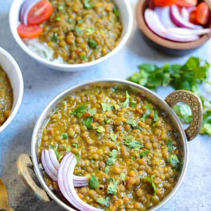 Brown Lentil - Whole Masoor Dal