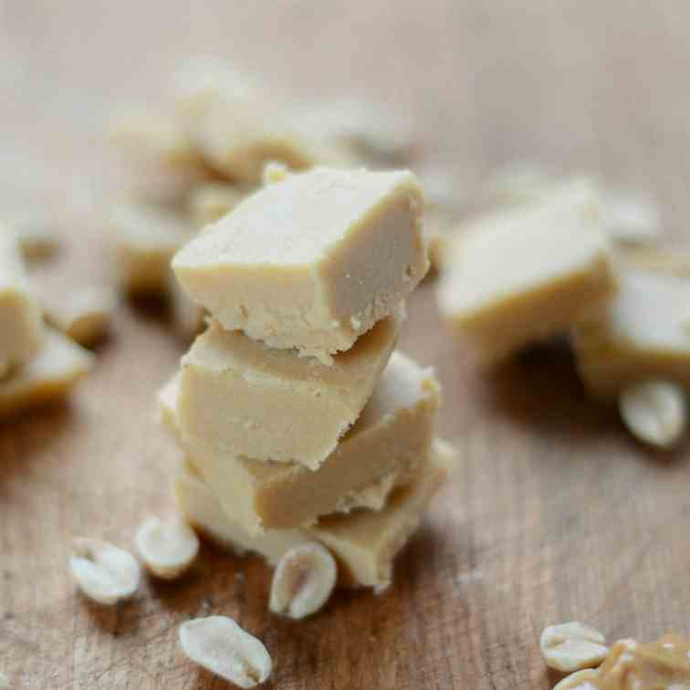 No Bake Peanut Butter Fudge