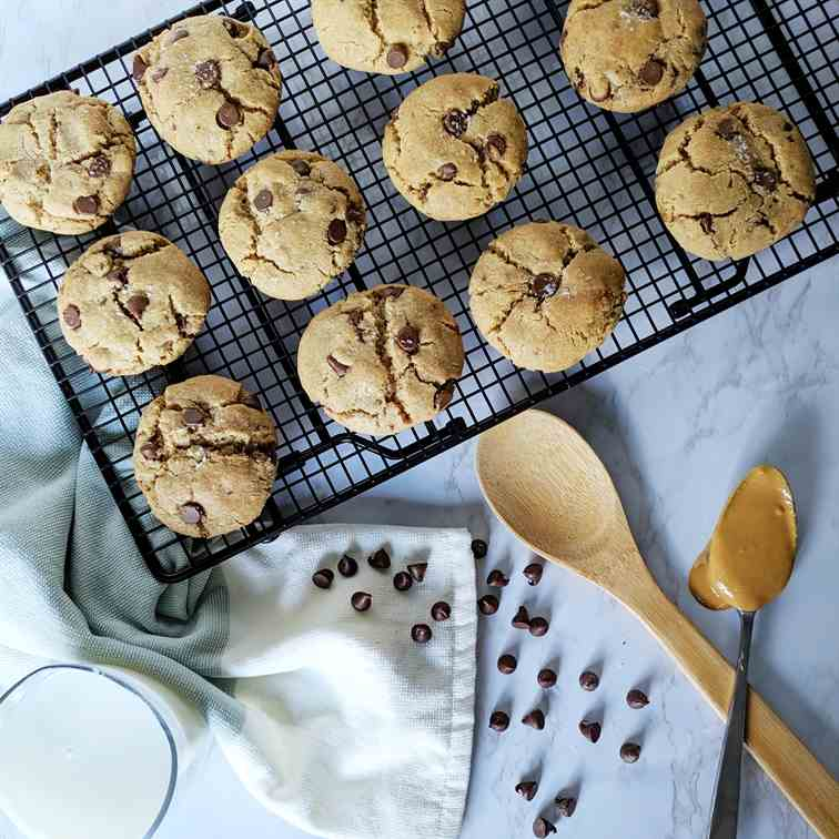 Double Butter Chocolate Chip Cookies