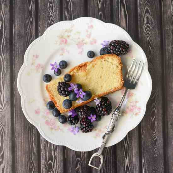 Crunchy Topped Pound Cake Recipe