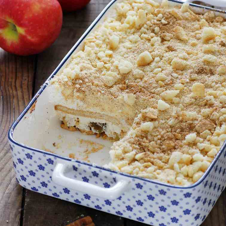 Caramel Apple Icebox Cake
