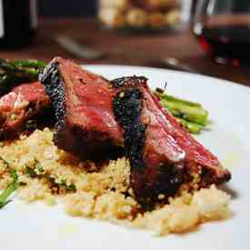 Grilled Lamb with Couscous