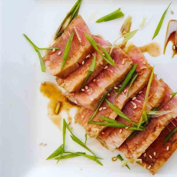 Tuna with Ponzu Sauce